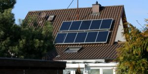 Solarthermie-Anlage in Walldorf